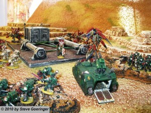 Dark Angels on 40k Terrain 300x225 The Holidays are Tough on Warhammer