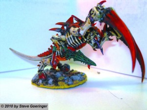 Tyranid Warrior Prime Warhammer Armies 4 300x225 Many Warhammer Projects Underway