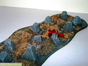 Cities of Death 190 300x225 Cities of Death Tank Traps 40k Terrain WIP