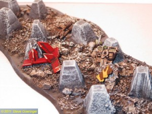 Cities of Death 207 300x225 Warhammer 40k Terrain Tank Trap Video